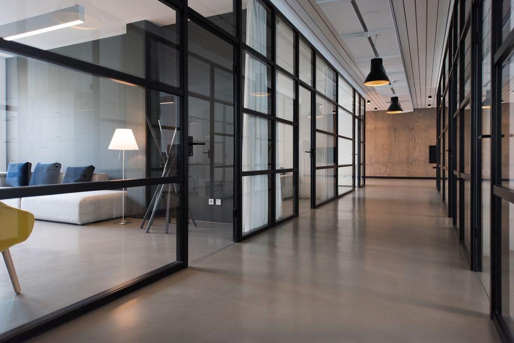 Smukke døre med glas